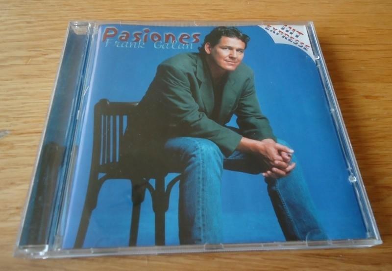 """Te koop de originele CD """"Pasiones"""" van Frank Galan."""