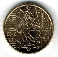 Frankrijk 10 Cent 2012