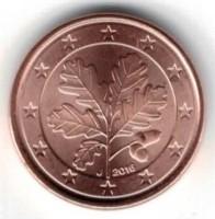 Duitsland 1 Cent 2016 J = Hamburg