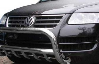 VW Touareg - Front ram / bullbar roestvrij staal