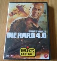 """De nieuwe originele DVD """"Die Hard 4.0"""" met Bruce Willis"""