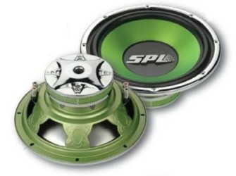 "SPL-Audio  2 Subwoofers 10""500 Watt WM-250-114P"