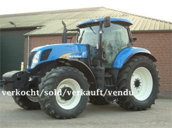 New Holland T7040PC SOLD/VERKAUFT