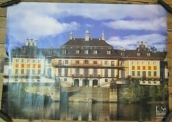 poster van Schloss Pilnitz bij Dresden,NIEUW,84 x 54.5 cm