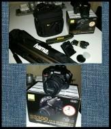 Nikon D3300 spiegelreflex! Bijna nieuw! Incl accessoires