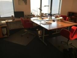 IKEA bureau met stoel