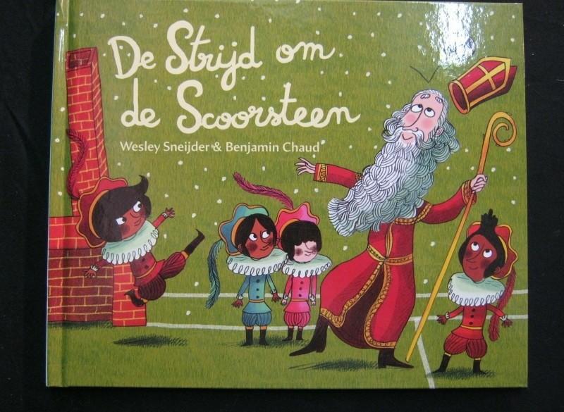 Sinterklaasboek,Wesley Snijder,2016,strijd om de scoorsteen