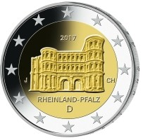 Duitsland 2 Euro 2017 Rheinland Pfalz - Porta Nigra