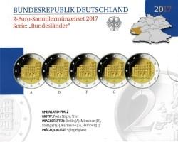 Duitsland 2 Euro 2017 Rheinland Pfalz - Porta Nigra Proof