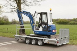 Proline machinetransporter 400x180cm 3500kg 3-as