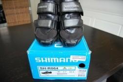 klik schoen voor race/mountainbike