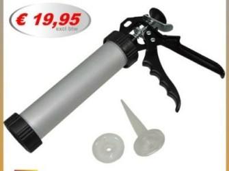 Aluminium kitpistool kitspuit kitpistolen kitkoker
