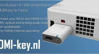Wii 1080p FullhD met hdmikey en hdmi kabel