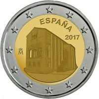 Spanje 2 Euro 2017 Asturie Santa Maria del Naranco