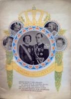 Koperen bruiloft Juliana 1949