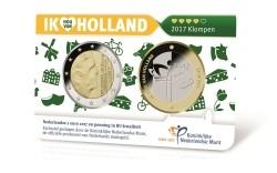 Nederland 2 Euro 2017 Coincard Nummer 4 Klompen