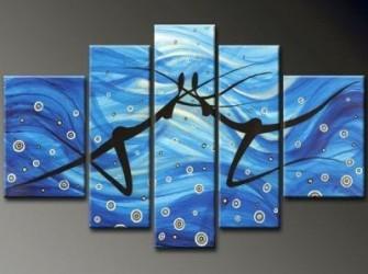 """""""Diepte Gang"""" Nieuw Abstract Olieverfschilderij"""