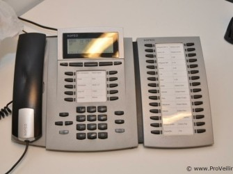 Agfeo ST40 Systeem telefoon met Extension Silver
