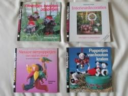 3 x Hobbywijzer boekjes.