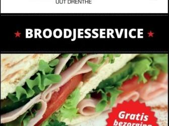 Broodjesservice, lunchpakketten, broodtafel