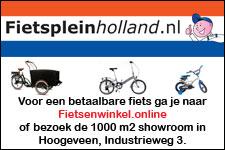 Fietsplein Holland, nu met showroom