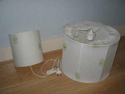 hanglamp en wandlamp babykamer