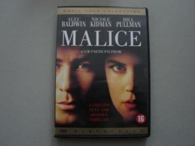 Malice Nicole Kidman, Alec Baldwin en Bill Pullman dvd