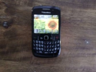 blackberry Curve, mail mij Pascal Damen
