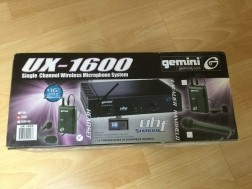 Gemini UX-1600 Wireless PLL System Receiver