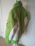 dames ski-jack Falcon groen-wit mt L