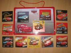 12 Cars magneten en magneetbord