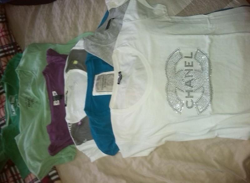 diverse merk shirts maat s en m