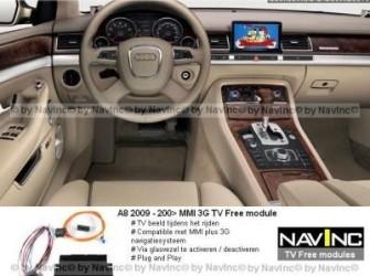 NavInc: A8 MMI plus 3G TV vrijschakeling / TV Free