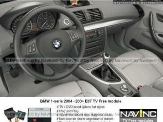 NavInc: 1-serie E87 iDrive CCC TV vrijschakeling