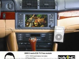 NavInc: 5-serie E39 MK1-4 TV vrijschakeling