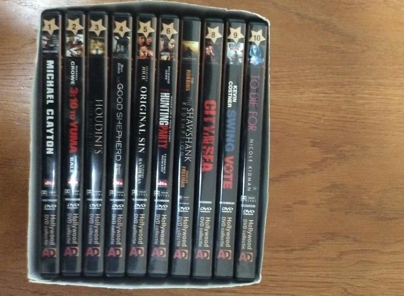 te Koop 10 originele dvd's