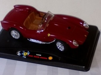 metalen model auto, 259 Testa Rossa 1958