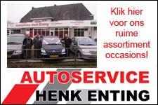 Ook in crisistijden laat Henk Enting u autorijden!