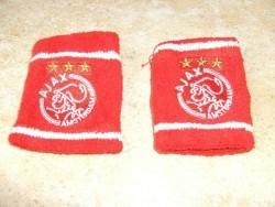 zweetbandjes Ajax (rood)
