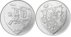 Litouwen 1,5 Euro 2017 Sint Cazimir