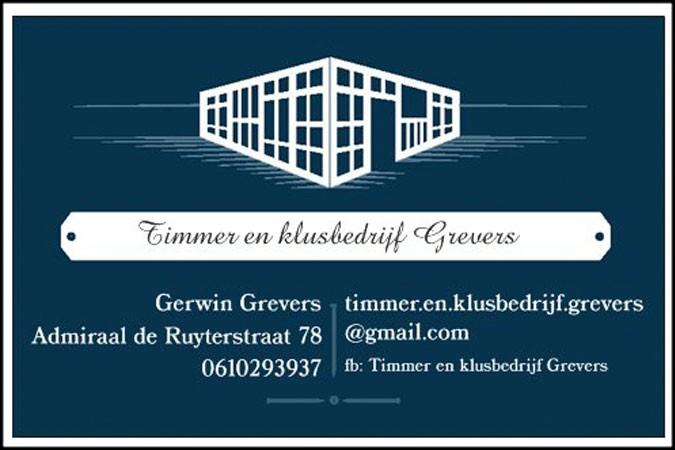 Timmer- en klusbedrijf Grevers