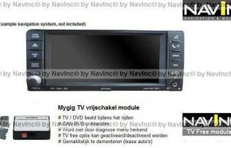 NavInc: Town). & Country Mygig TV vrijschakeling