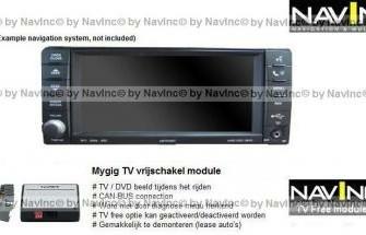NavInc: Charger Mygig TV vrijschakeling / TV Free