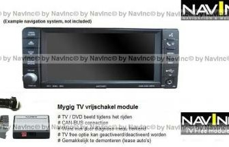Caliber Mygig TV vrijschakeling + Rear camera