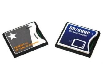 CF Card Adapter voor SD/SDHC - Gratis bezorgd!