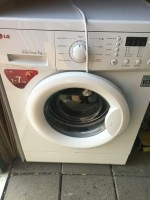 Gratis Indesit wasmachine met gescheurd rubber