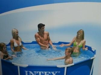 zwembad aangeboden van 305 cm