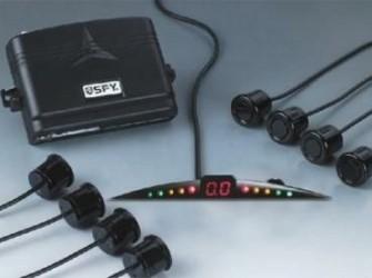 Parkeerhulp Led Small 8 Sensoren Buzzer (voorkant)