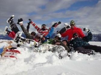 weekend wintersport met uw bedrijf