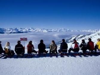 shortski naar de alpen